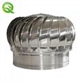 304 Stainless steel unpowered fan energy saving Roff ventilator fan for poultry  3