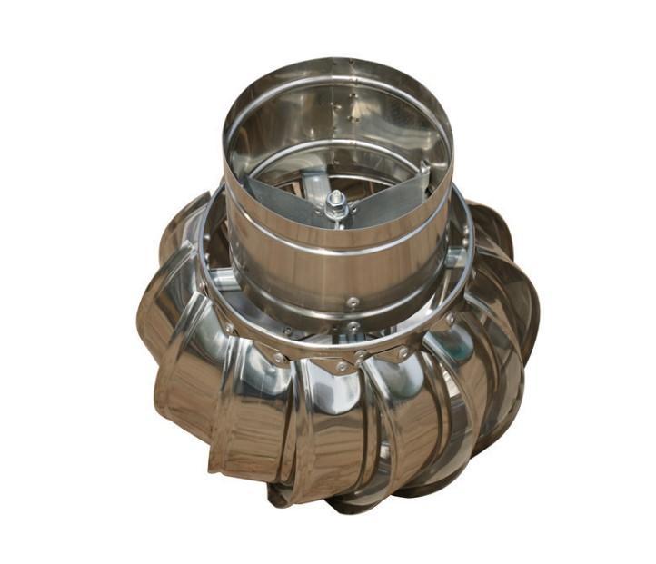 304 Stainless steel unpowered fan energy saving Roff ventilator fan for poultry  4