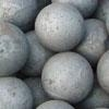 Casting steel grinding ball