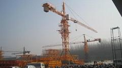 QTZ100 (6013) tower crane