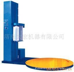 Automatic per-stretch wrapping machine 2