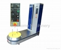 Baggage wrapping machine