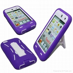 Robot Kick Stand Case for iPod Touch 4