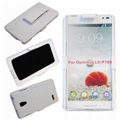 plastic case for LG Optimus L9 P769 hard case white color phone case
