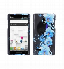 hard case for LG Optimus L9 P769 Glossy 2D protective case hard plastic cases
