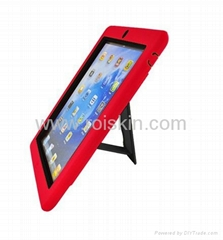 holster for ipad 3 2 silicon pc combo case for ipad 2 3