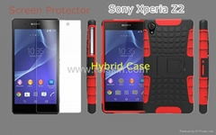 Wholesale Case for Sony Xperia Z2,Screen Protector for Sony Xperia Z2
