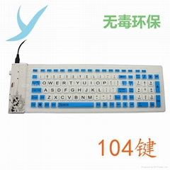 USB Flexible Silicone Numeric Keyboard