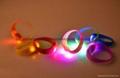 廠家直銷硅膠發光LED手環 3