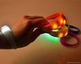 廠家直銷硅膠發光LED手環 5