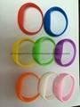 廠家直銷硅膠發光LED手環 2