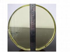 Large Aperture Faraday Rotator Optics