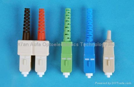 SC Fiber Optic Connector
