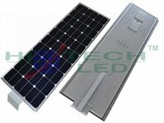 Hitechled 60W all-in-one integrated solar led street light ,Lampara solar de LED