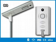 Hitechled D3 Series all-in-one solar street light lampara solar todo en uno