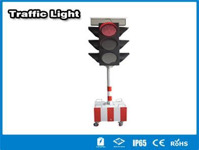 Hitechled  solar LED traffic light semaforos LED solares, lamparas de trafico 1