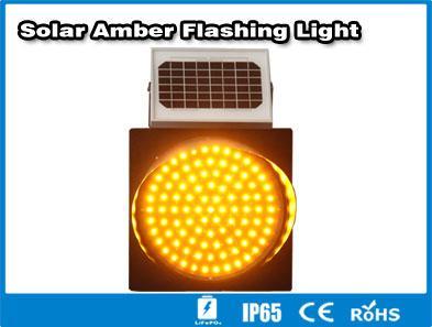 Hitechled  solar LED traffic light semaforos LED solares, lamparas de trafico 2