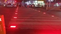 LED Underground Warning Lamp For Zebra Crossing Pedestrian