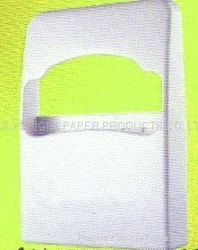 1/4 folding paper plastic dispenser 1