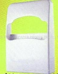 1/4 折马桶圈纸垫塑料挂盒
