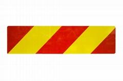 Heavy Vehicle Rear Reflective Marker Board