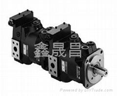 派克PV/PV系列雙聯軸向柱塞