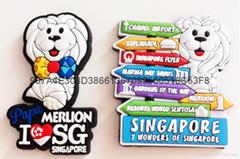 PVC soft rubber fridge magnets