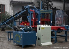 hot selling fully automatic hydraulic brick machine QTY3-13