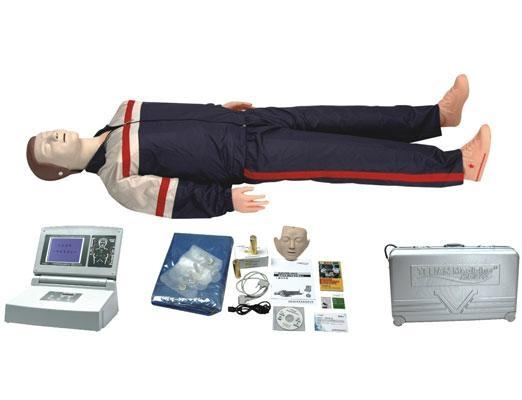 高級大屏幕液晶彩顯全自動電腦心肺復甦模擬人 1