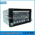 6.2 Inch Double Din Car DVD Player with GPS