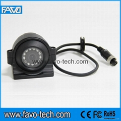 Metal Case Camera Waterproof Trailers CCD Side Reversing Camera