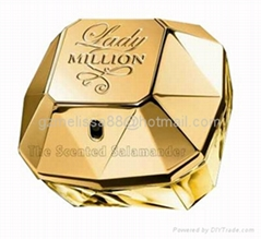 Famous brand Fragrance Paco Rabanna Lady Million Perfume 80ml