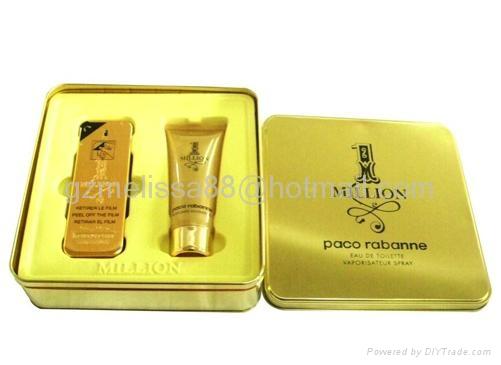 品牌時尚香水禮盒 1