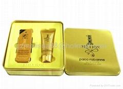 Brand fragrance gift set