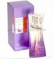 famous glass bottle perfume