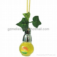 glass bottle Car Parfum