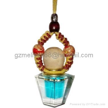 glass bottle Car Parfum  2