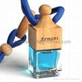 glass bottle Car Parfum  3