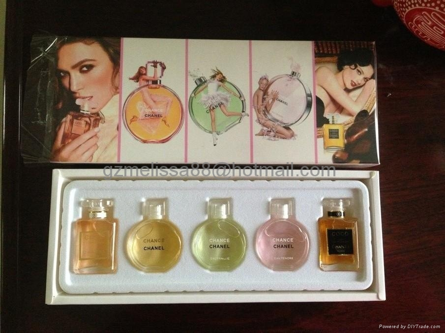 Perfume small gift set with low price