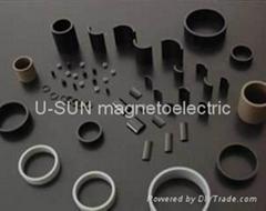 Bonded ND-Fe-B Magnets