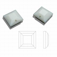14MM正方形平面压克力钻