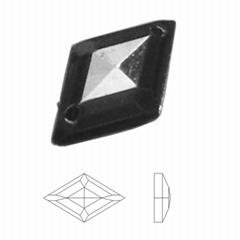 11×18菱形切割面電鍍手縫鑽