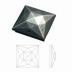 15MM正方形切割面電鍍手縫鑽