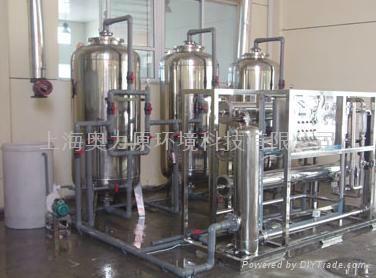上海1.5噸桶裝純淨水設備 4