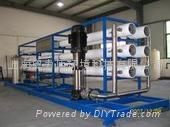上海醫藥3噸雙級純化水設備