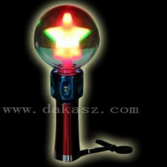 SP-08RS LED Flash Spin Ball - Rainbow Star