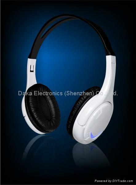 立体声插卡耳机带蓝牙功能 1
