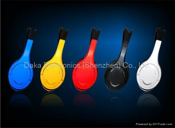 立体声插卡耳机带蓝牙功能 2