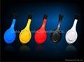 立體聲插卡耳機帶藍牙功能 2