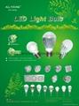 12W LED Light Blub